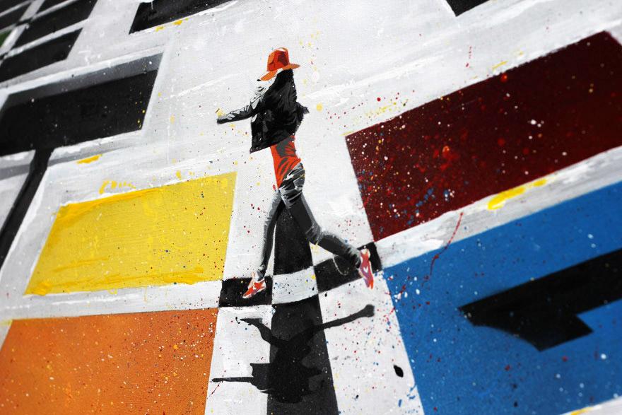 Thomas Jaeckel Contemporary Art, Aerosol, Acryl, Stencil, Cologne, Köln, Atelierzentrum Ehrenfeld